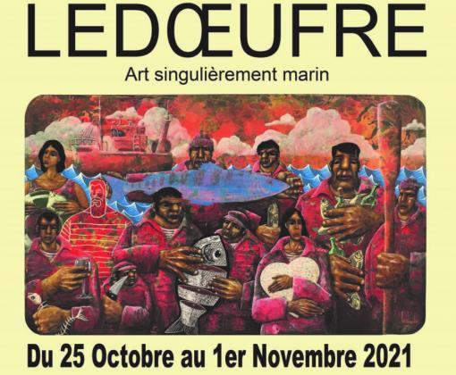 Ledoeufre : Art singulièrement marin du 25 octobre au 1er novembre 2021