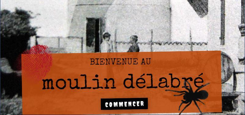 Jeu virtuel Le Moulin Délabré du 22 octobre au 7 novembre 2021