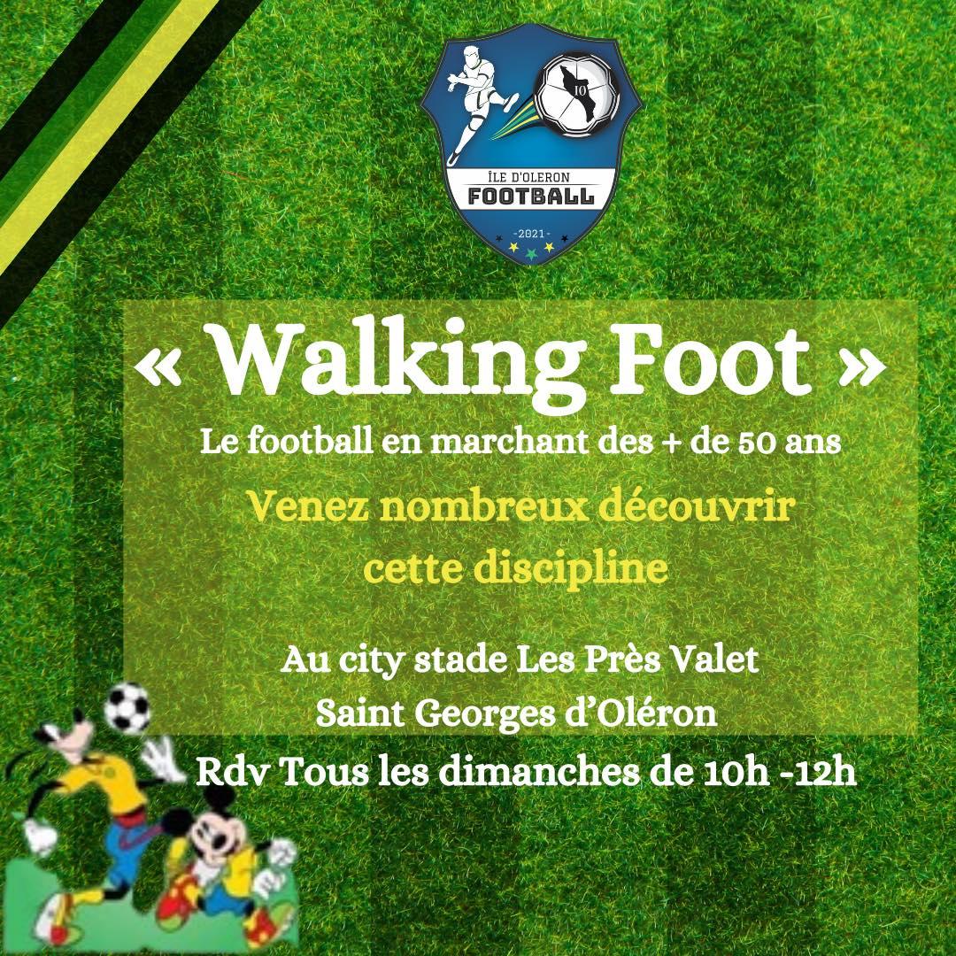 Découvrez le Walking Foot (tous les dimanches)