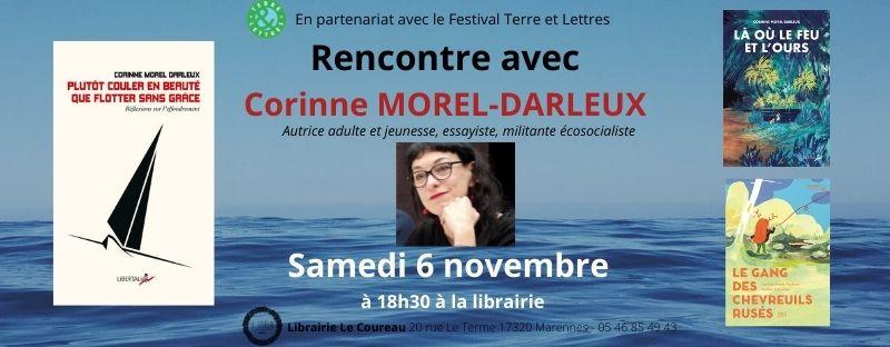 Rencontre littéraire à la librairie le Couteau le 6 novembre 2021