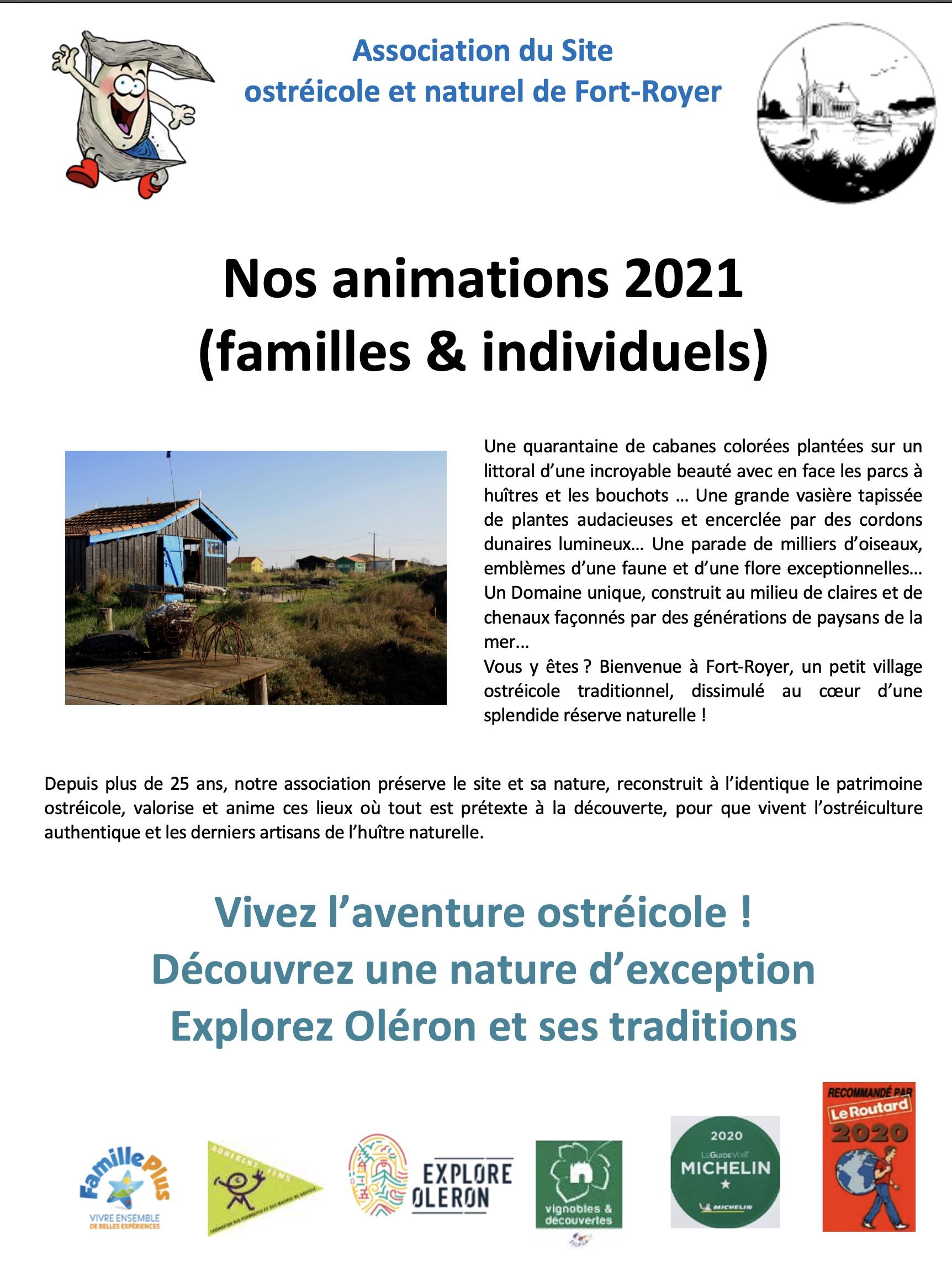 Association du Site ostréicole et naturel de Fort-Royer