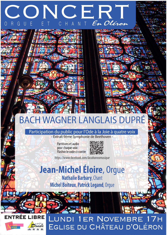 Concert le 1er novembre 2021 au Château-d'Oléron